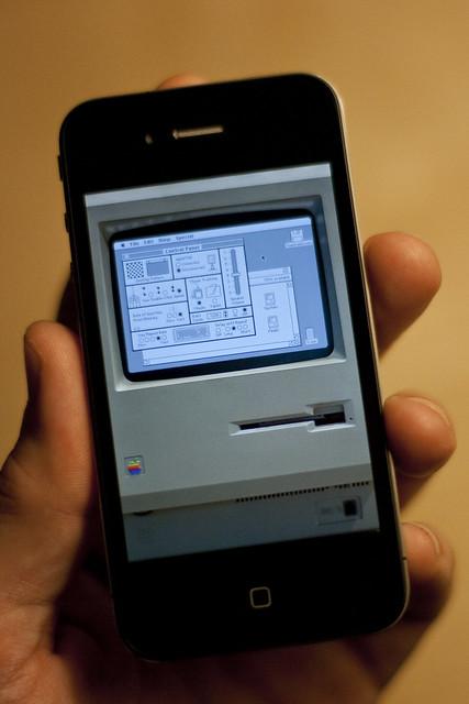 Mac on iPhone 4