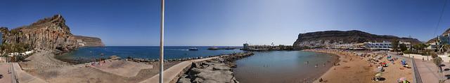 Playa de Mogán, Mogán. Isla de Gran Canaria