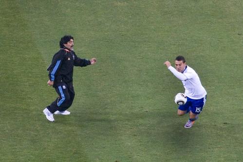 Coach Maradona | by babasteve