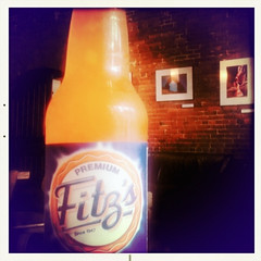 I've got my spine, I've got my orange crush.