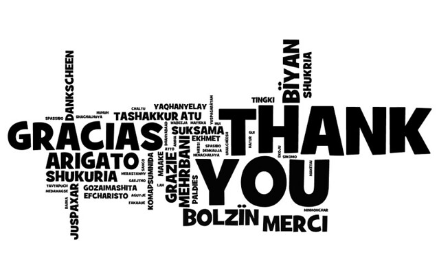 thank you note for every language