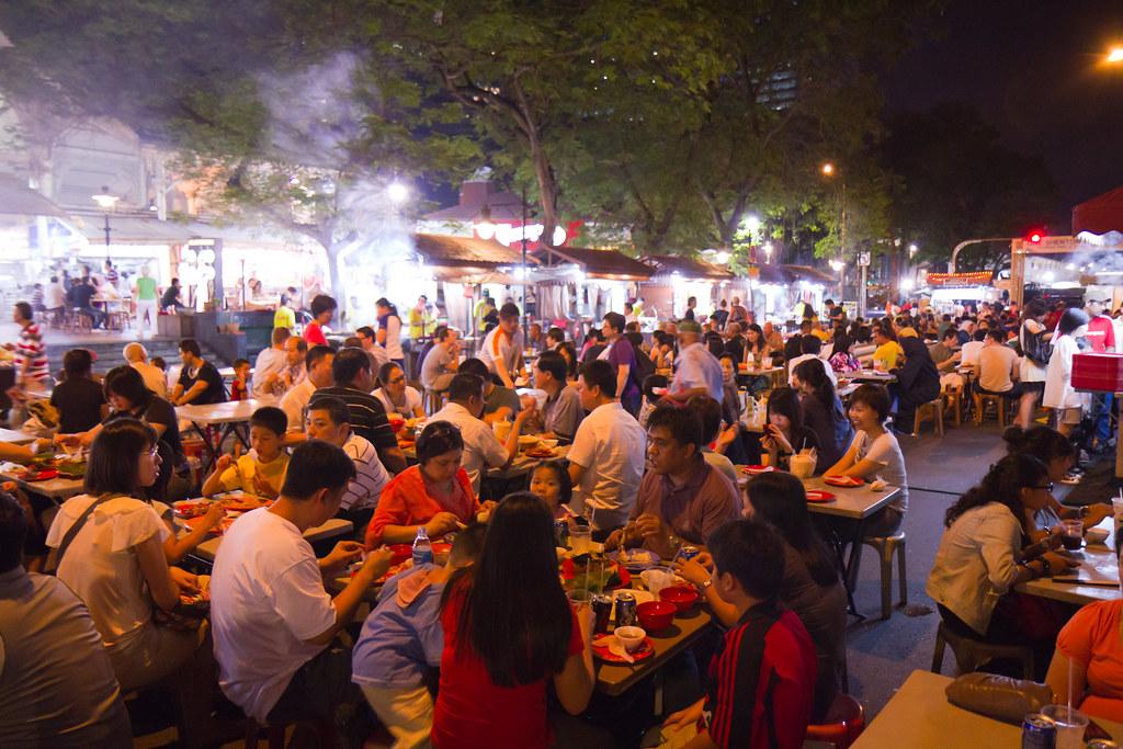 Satay Street @ Lao Pa Sat