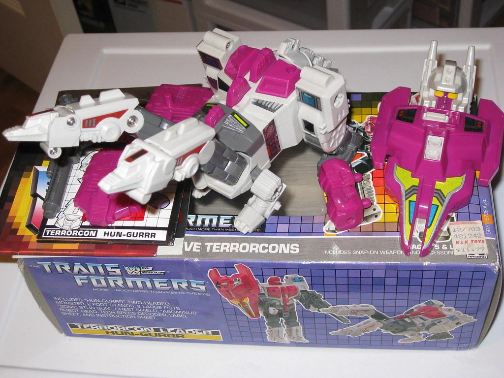 Transformers Generation 1 HUN-GURR (abominus)open | Pristine