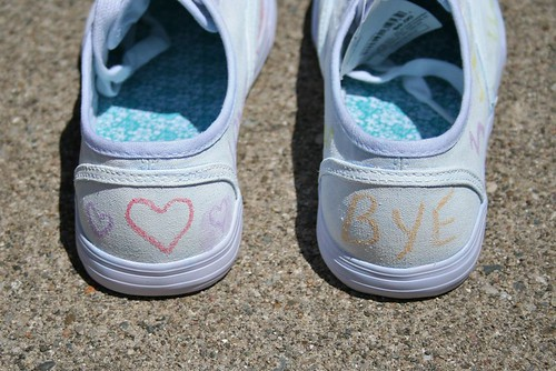 chalkboard shoes back