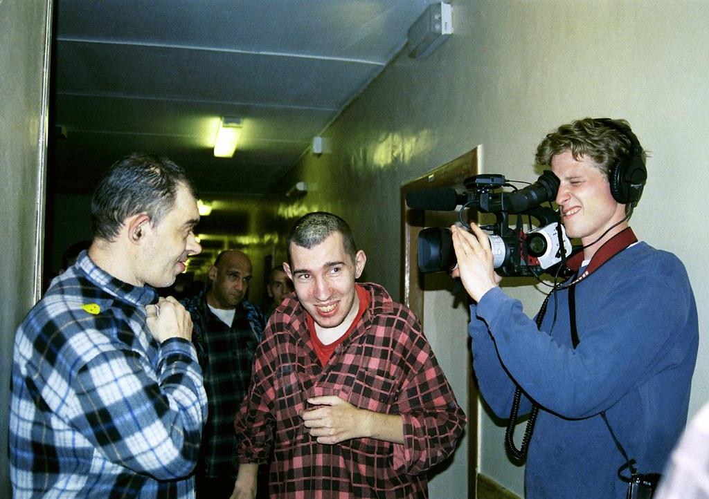 Zag Filming 1(John Glick/Russia Clown Trip 2004)
