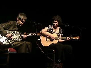 Pic: Deborah Conway and Willy Zygier at the Tivoli, Brisbane