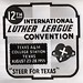 ALC 51.3.2 f.9 6 Luther League Conventions Photographs.  Texas A&M, College Station, TX 'God's Love - My Life' 1955 - Advertisement