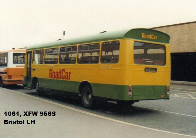1061, XFW 956S, Bristol LH, ECW Body B43F, 1978 (t.1988)