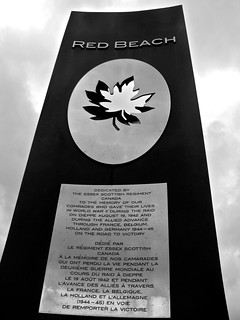 Essex Scottish Regiment Memorial - Dieppe | by Adrian F1