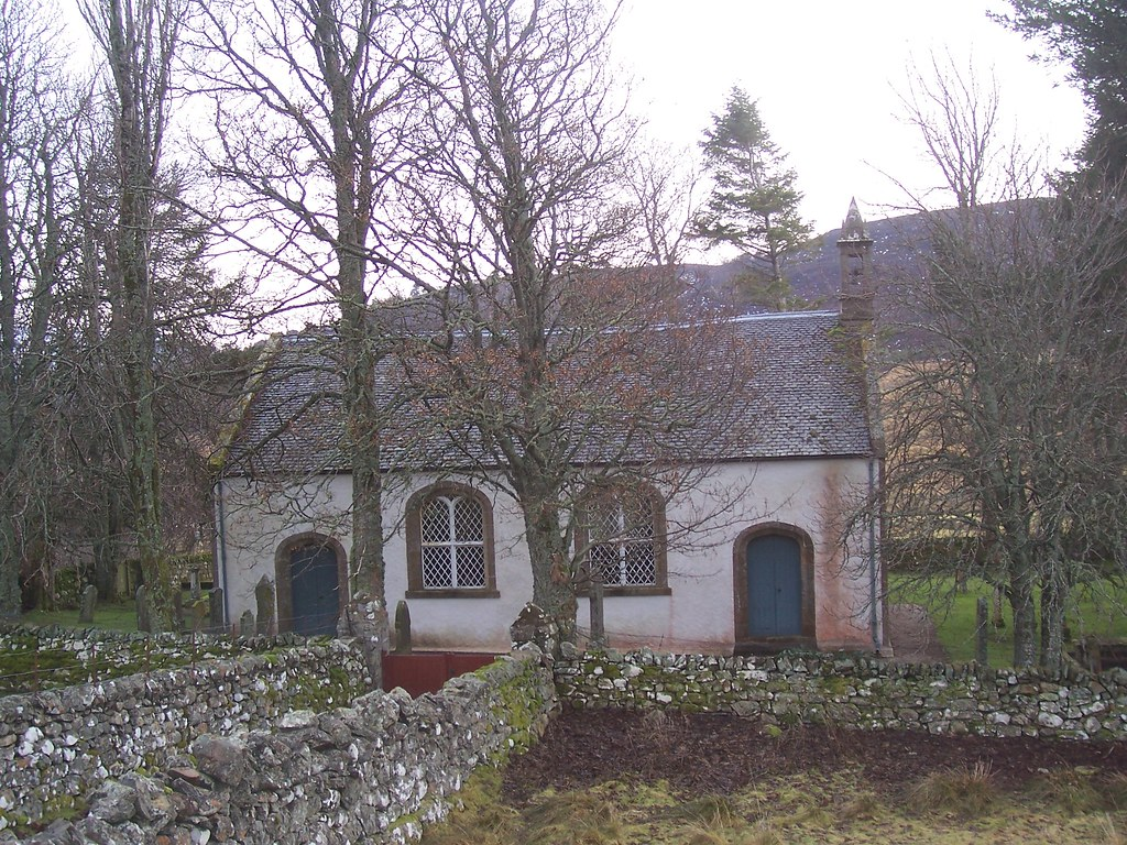 Croick Parliamentary Church, Ardgay, January 2010