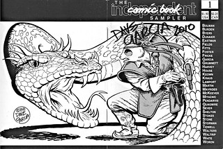 """""""The Independant Comic Book Sampler"""" #1..featuring PANDA KHAN.. signed by Dave Garcia (( 1988 )) 
