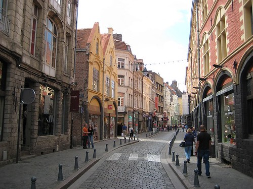 Cobbled street (Lille 2010) | by paularps