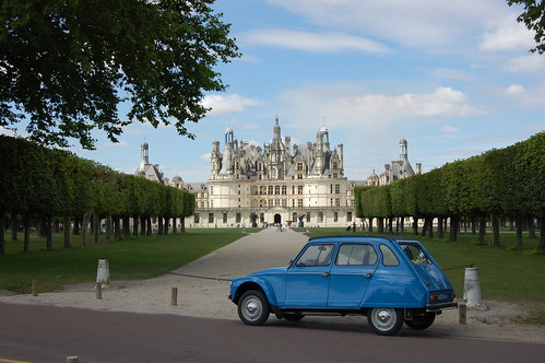Citroën Dyane near Chambord | by Dyane435