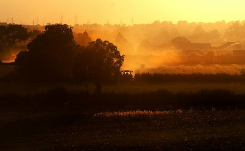 ©lowresolutionpreview sky building mist landscape kildare ireland field evening cokildare autumn 72dpipreview 20d best flickr hugh dempsey