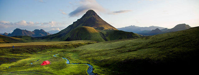 Iceland campsite