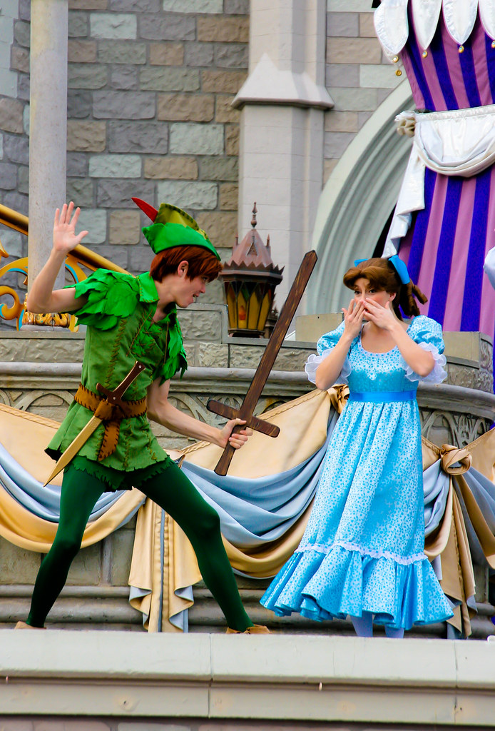 Peter Pan and Wendy | abelle2 | Flickr
