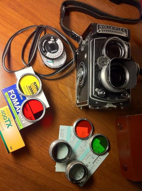 Rolleiflex 3.5C (K4C E1)
