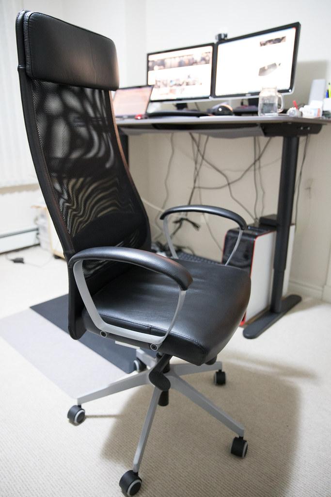 Pleasing Ikea Markus Swivel Chair Mack Male Flickr Bralicious Painted Fabric Chair Ideas Braliciousco
