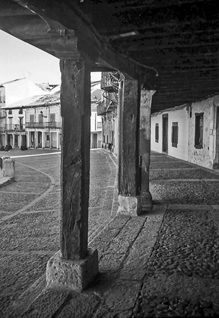 Riaza, Plaza  Mayor.