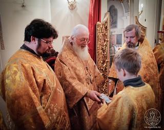 Литургия в Покровском соборе 580