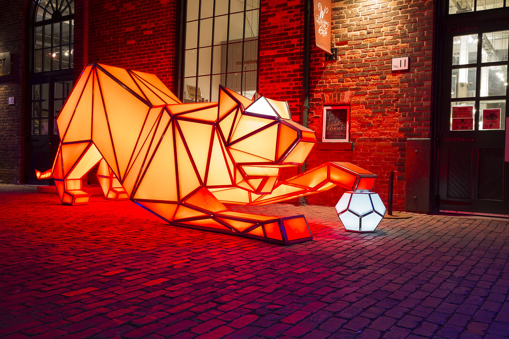 The Distillery District Light Festival