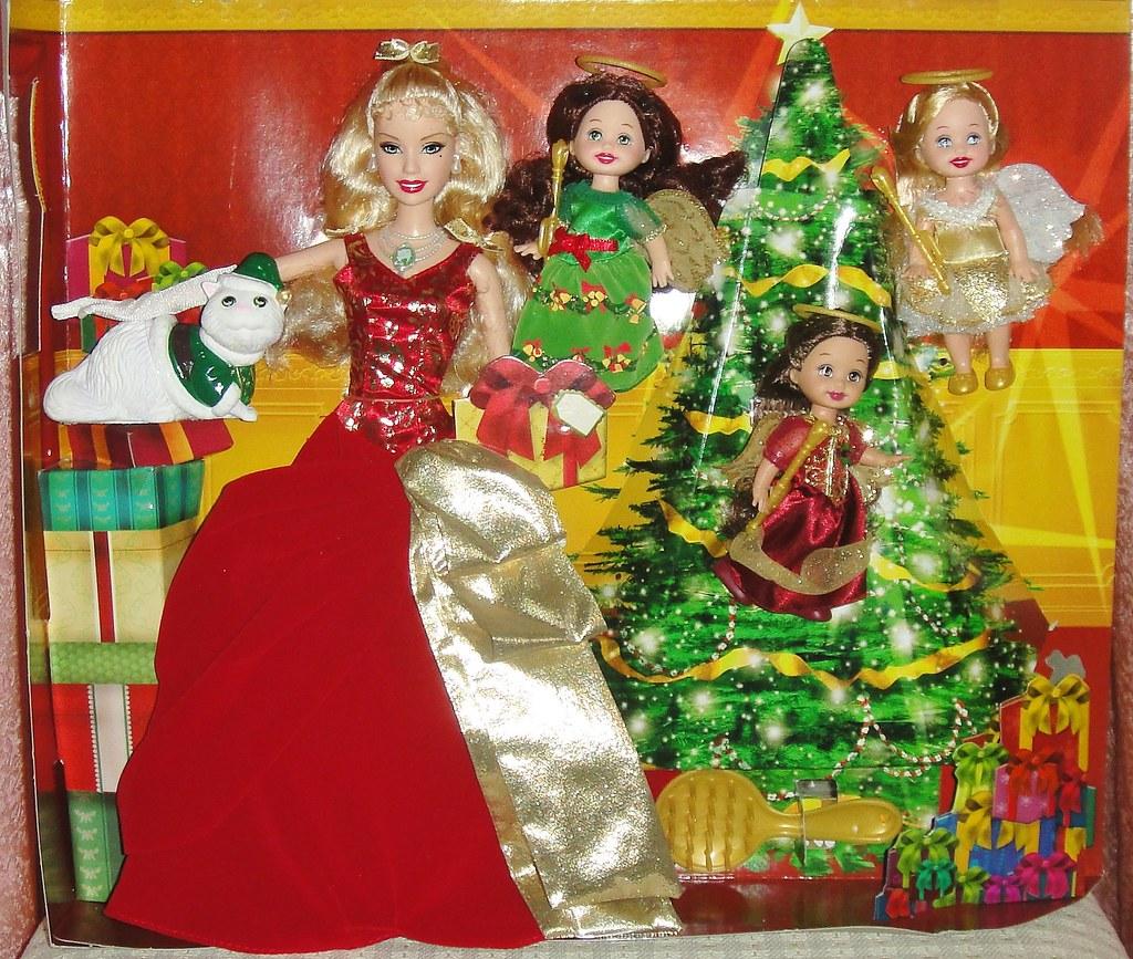 A Christmas Carol Spirits.2008 Barbie In A Christmas Carol Eden Starling The 3 Chr