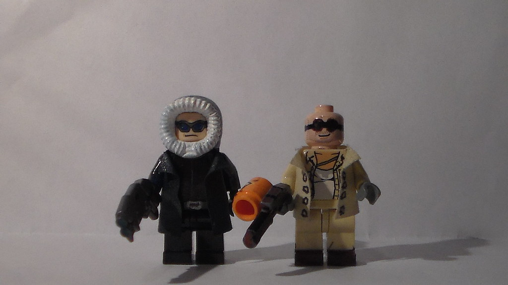 Custom Lego Captain Cold And Heatwave Here Is My Lego Capt Flickr