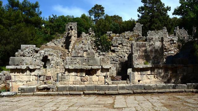 PHASELIS  Ancient City. Çamuva/Antalya.  Turkey
