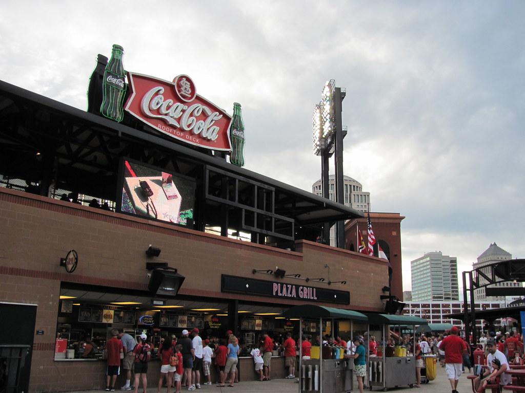 Coca Cola Rooftop Deck At Busch Stadium St Louis Moimg Flickr