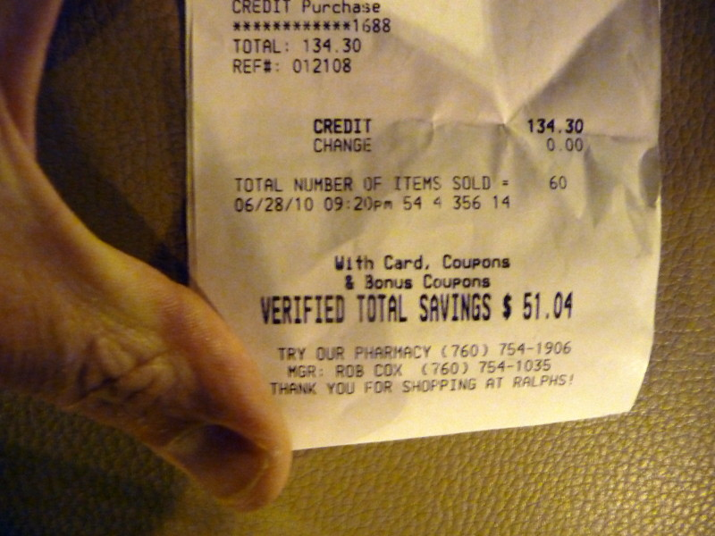 Total Grocery Bill Savings: $51 04 Off An Original Tally O… | Flickr
