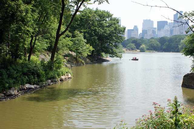 Going for a boat ride in Central Park