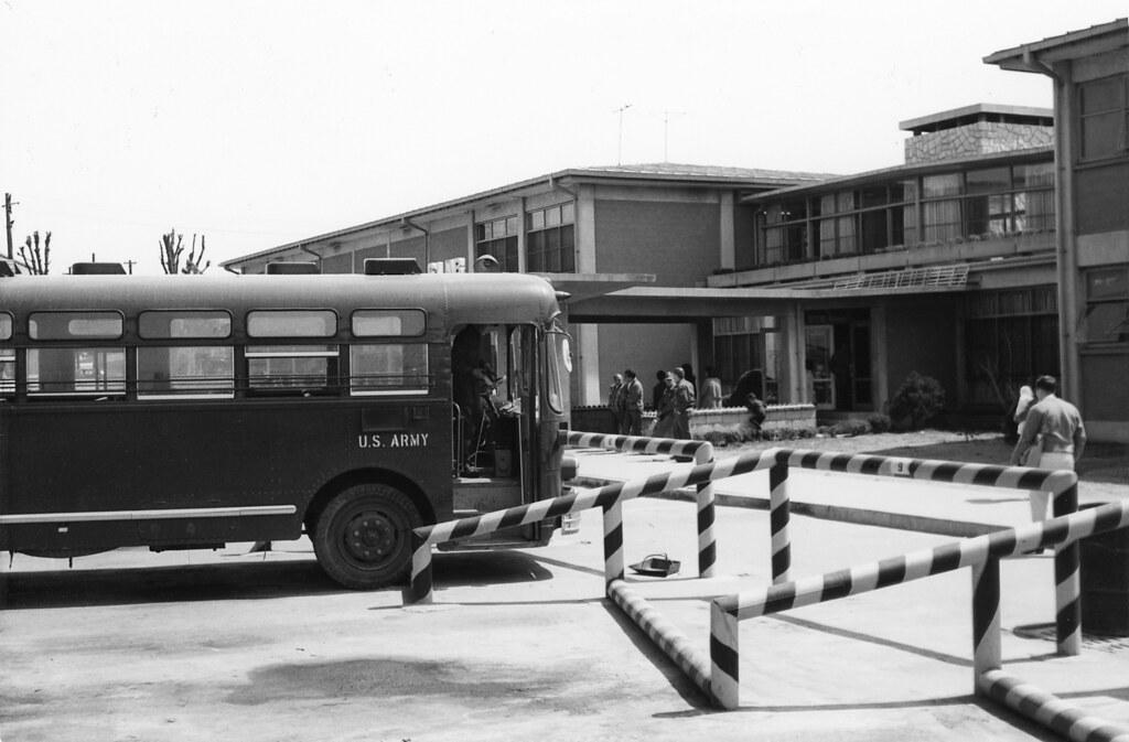 1965 South Korea ~ US Army Bus
