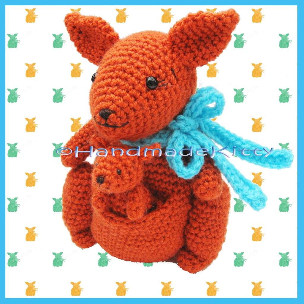Kangaroo Amigurumi Crochet Tutorial - Yarn & Hooks | 1024x1024