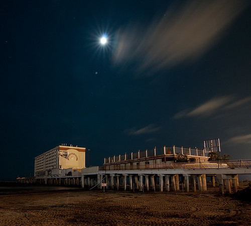 galveston abandoned night hotel texas flagship