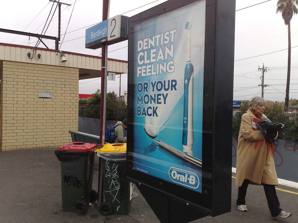 Advert oral b Oral B