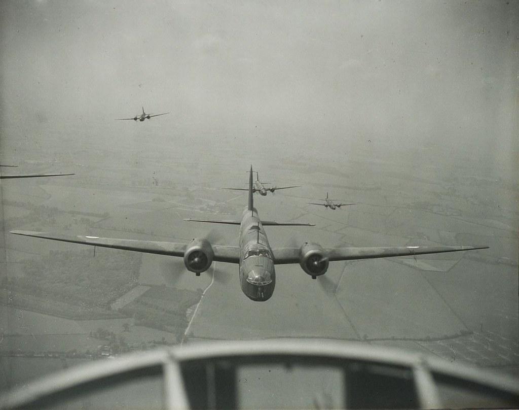 World War II Wellington bombers (1 of 2)