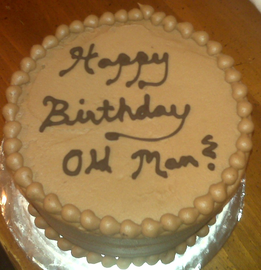 Groovy Old Man Birthday Cake Old Man Birthday Cake Flickr Funny Birthday Cards Online Overcheapnameinfo