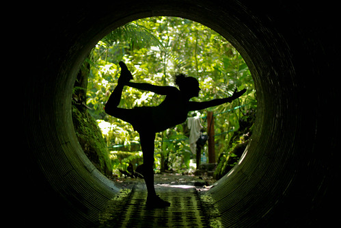 Natarajasana tunnel. | by Jrindere