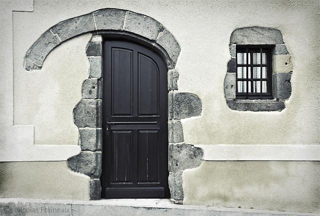Demi-porte - Half-door