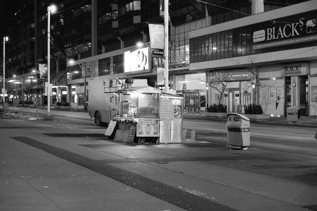 Lonely Vendor