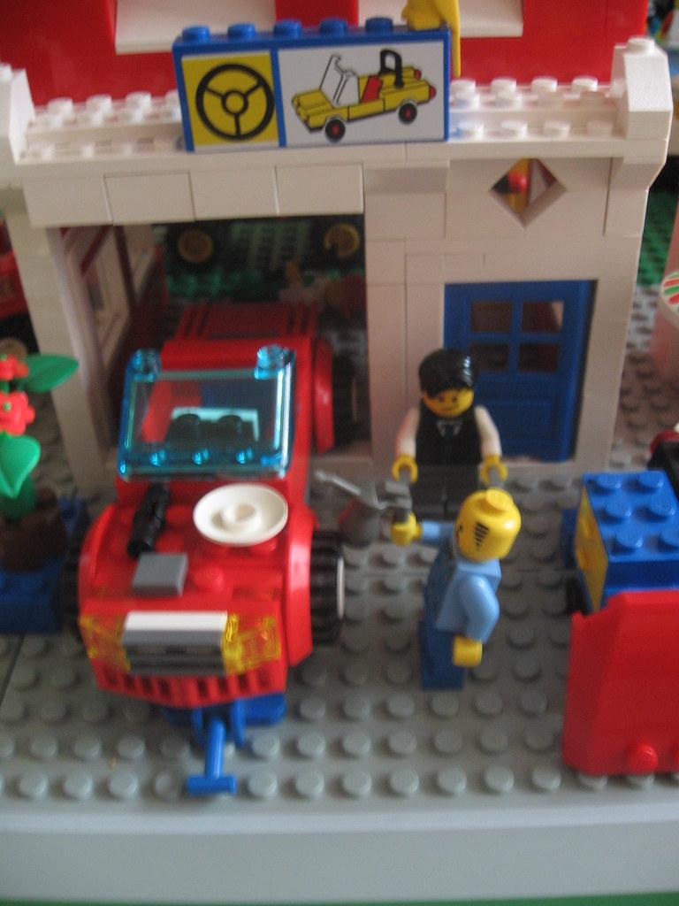 Lego City Auto Repair Jth781 Flickr