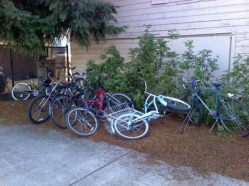 County Fair Bike Parking