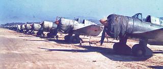 World War II Fighter Planes: Kimpo, Korea 1945
