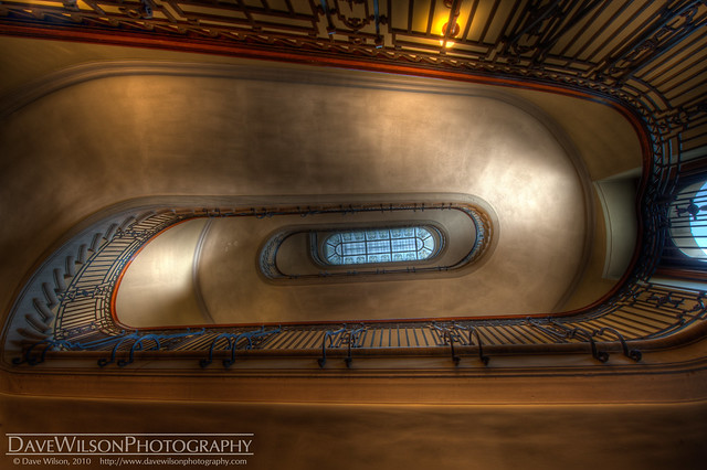 Stairwell, Minnesota State Capitol