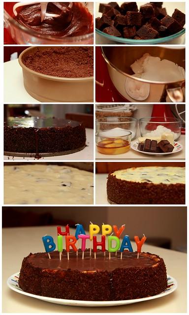 232/365 - David's Birthday Cake