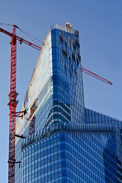 Reflets sur La Défense (3)
