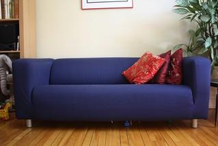 Swell Ikea Klippan Sofa 50 Slipcover Is Easily Washable An Ibusinesslaw Wood Chair Design Ideas Ibusinesslaworg