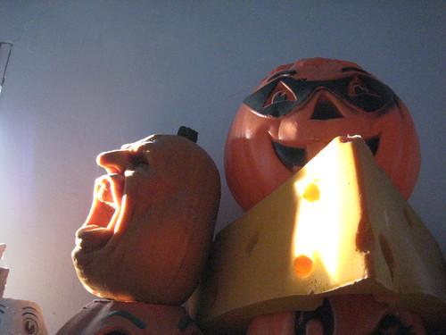 Jack O Lantern Faces With Tongue