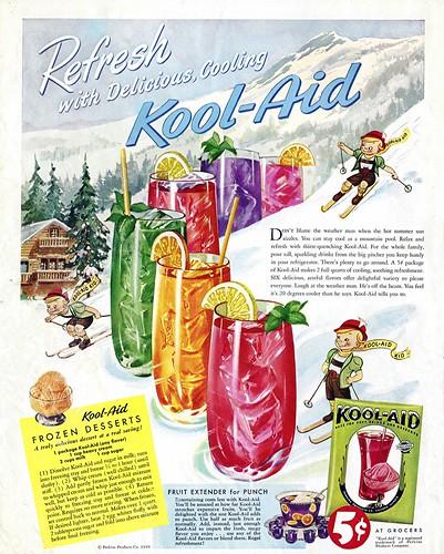 1949 - Kool-Aid and Kool-Aid Ice Cream | by clotho98