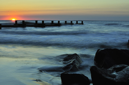 ocean longexposure sea usa beach nature sunrise 50mm newjersey rocks surf nj atlantic september shore stoneharbor nikkor gardenstate 50mmf14 2010 capemaycounty nikkor50mm neutraldensityfilter 7mileisland sevenmileisland nikond300s hjhipster